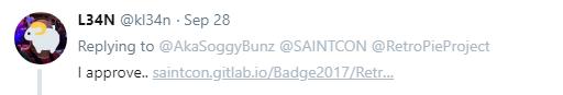 saintcon badge github